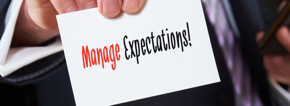 Expectations is very common not only in an Outsourcing